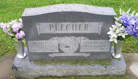 PEECHER, OPAL D. - Ross County, Ohio   OPAL D. PEECHER - Ohio Gravestone Photos