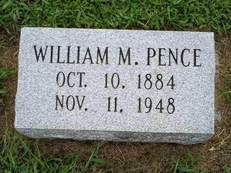 PENCE, WILLIAM M. - Ross County, Ohio | WILLIAM M. PENCE - Ohio Gravestone Photos