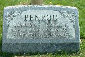 PENROD, MAGGIE N. - Ross County, Ohio | MAGGIE N. PENROD - Ohio Gravestone Photos