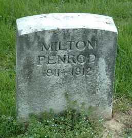 PENROD, MILTON - Ross County, Ohio | MILTON PENROD - Ohio Gravestone Photos