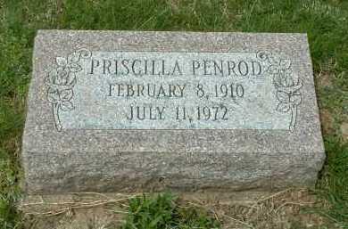 PENROD, PRISCILLA - Ross County, Ohio | PRISCILLA PENROD - Ohio Gravestone Photos