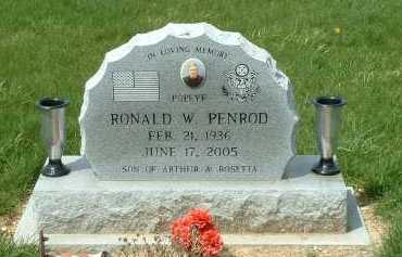 PENROD, RONALD W. - Ross County, Ohio | RONALD W. PENROD - Ohio Gravestone Photos