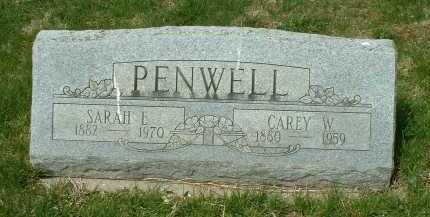 PENWELL, CAREY W. - Ross County, Ohio | CAREY W. PENWELL - Ohio Gravestone Photos