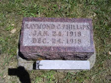 PHILLIPS, RAYMOND C. - Ross County, Ohio   RAYMOND C. PHILLIPS - Ohio Gravestone Photos