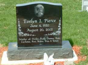 PIERCE, EVELYN I. - Ross County, Ohio   EVELYN I. PIERCE - Ohio Gravestone Photos