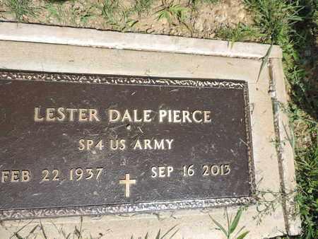PIERCE, LESTER DALE - Ross County, Ohio | LESTER DALE PIERCE - Ohio Gravestone Photos