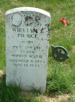 PIERCE, WILLIAM E. - Ross County, Ohio   WILLIAM E. PIERCE - Ohio Gravestone Photos