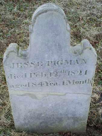 PIGMAN, JESSE - Ross County, Ohio | JESSE PIGMAN - Ohio Gravestone Photos