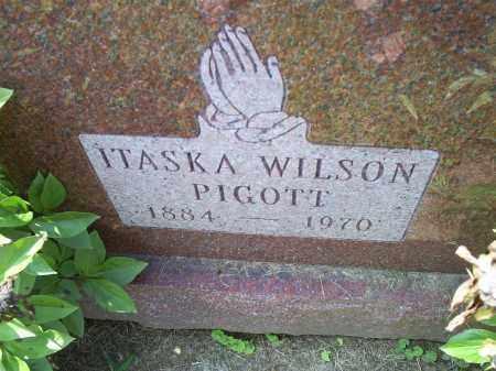 PIGOTT, ITASKA WILSON - Ross County, Ohio | ITASKA WILSON PIGOTT - Ohio Gravestone Photos