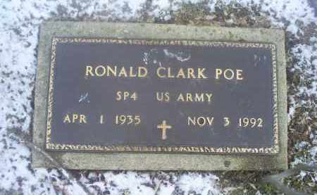 POE, RONALD CLARK - Ross County, Ohio | RONALD CLARK POE - Ohio Gravestone Photos