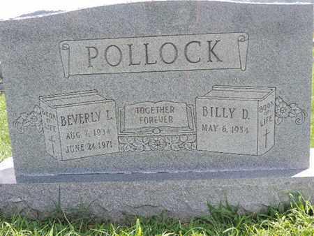 POLLOCK, BILLY D - Ross County, Ohio   BILLY D POLLOCK - Ohio Gravestone Photos