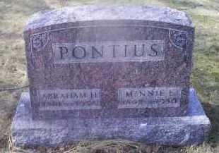 PONTIOUS, ABRAHAM H. - Ross County, Ohio | ABRAHAM H. PONTIOUS - Ohio Gravestone Photos