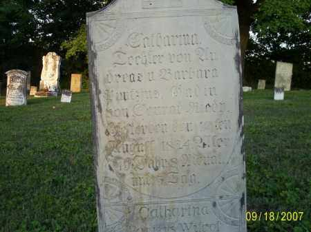 PONTIOUS, CATHERINA - Ross County, Ohio | CATHERINA PONTIOUS - Ohio Gravestone Photos