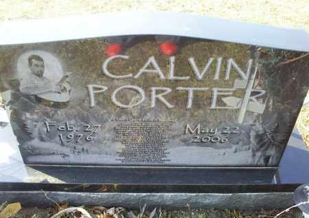 PORTER, CALVIN - Ross County, Ohio   CALVIN PORTER - Ohio Gravestone Photos