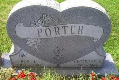 PORTER, ROY L. - Ross County, Ohio | ROY L. PORTER - Ohio Gravestone Photos