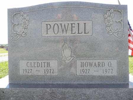 POWELL, HOWARD O. - Ross County, Ohio | HOWARD O. POWELL - Ohio Gravestone Photos