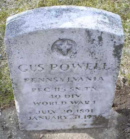 POWELL, GUS - Ross County, Ohio | GUS POWELL - Ohio Gravestone Photos