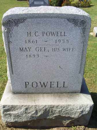 GEE POWELL, MAY - Ross County, Ohio | MAY GEE POWELL - Ohio Gravestone Photos