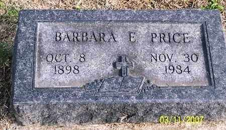 PRICE, BARBARA E. - Ross County, Ohio | BARBARA E. PRICE - Ohio Gravestone Photos