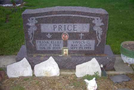 PRICE, FRANK ELLET - Ross County, Ohio | FRANK ELLET PRICE - Ohio Gravestone Photos