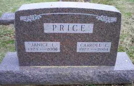 PRICE, CARROLL C. - Ross County, Ohio | CARROLL C. PRICE - Ohio Gravestone Photos