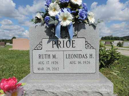 PRICE, LEONIDAS H. - Ross County, Ohio | LEONIDAS H. PRICE - Ohio Gravestone Photos