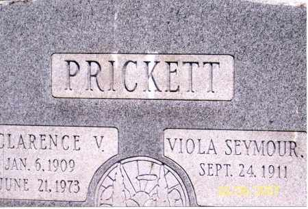 PRICKETT, CLARENCE V. - Ross County, Ohio | CLARENCE V. PRICKETT - Ohio Gravestone Photos