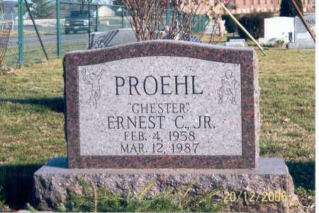 PROEHL, ERNEST CHESTER - Ross County, Ohio | ERNEST CHESTER PROEHL - Ohio Gravestone Photos