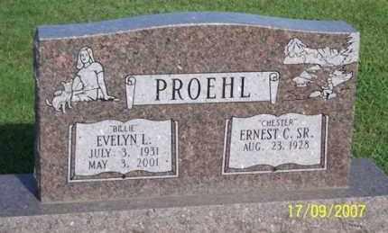 PROEHL, EVELYN L. - Ross County, Ohio | EVELYN L. PROEHL - Ohio Gravestone Photos