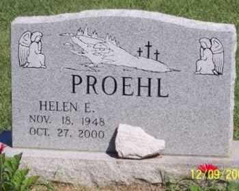 PROEHL, HELEN E. - Ross County, Ohio | HELEN E. PROEHL - Ohio Gravestone Photos