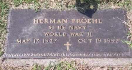 PROEHL, HERMAN - Ross County, Ohio | HERMAN PROEHL - Ohio Gravestone Photos