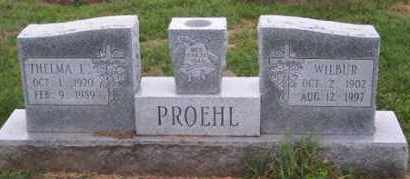 PROEHL, WILBUR - Ross County, Ohio   WILBUR PROEHL - Ohio Gravestone Photos