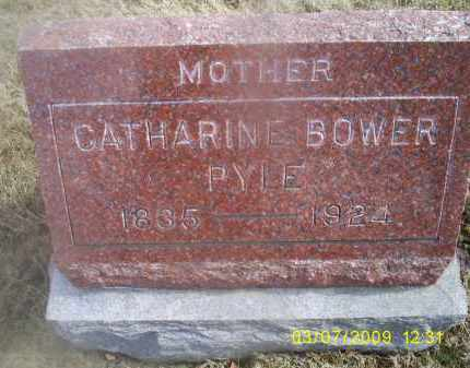 BOWER PYLE, CATHARINE - Ross County, Ohio | CATHARINE BOWER PYLE - Ohio Gravestone Photos