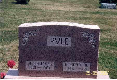 JONES PYLE, DELLA - Ross County, Ohio | DELLA JONES PYLE - Ohio Gravestone Photos