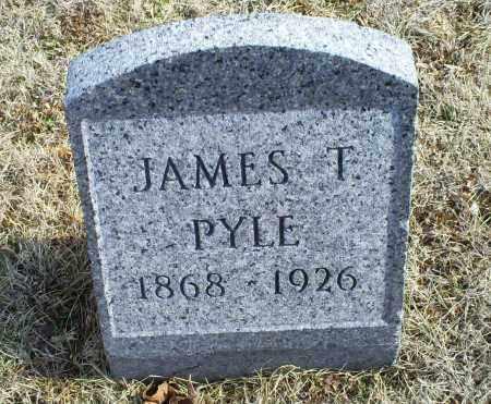 PYLE, JAMES T. - Ross County, Ohio | JAMES T. PYLE - Ohio Gravestone Photos