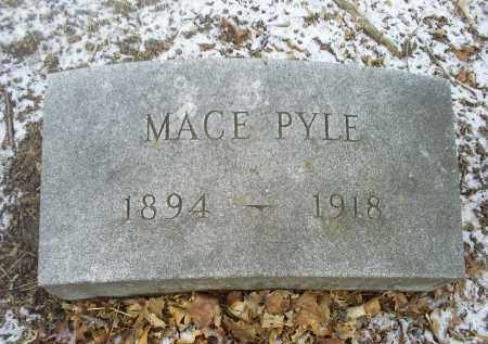PYLE, MACE - Ross County, Ohio   MACE PYLE - Ohio Gravestone Photos