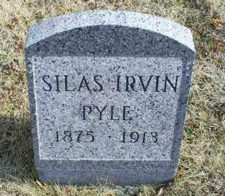 PYLE, SILAS IRVIN - Ross County, Ohio | SILAS IRVIN PYLE - Ohio Gravestone Photos