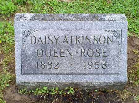 QUEEN-ROSE, DAISY - Ross County, Ohio | DAISY QUEEN-ROSE - Ohio Gravestone Photos