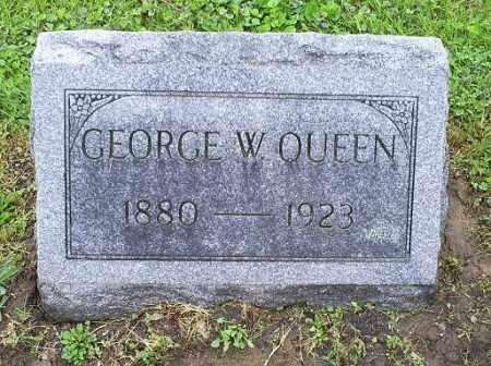 QUEEN, GEORGE W. - Ross County, Ohio   GEORGE W. QUEEN - Ohio Gravestone Photos