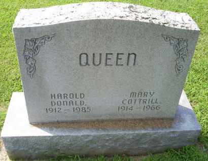 QUEEN, HAROLD DONALD - Ross County, Ohio | HAROLD DONALD QUEEN - Ohio Gravestone Photos