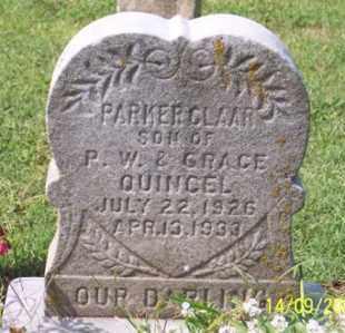 QUINCEL, PARKER CLAAR - Ross County, Ohio | PARKER CLAAR QUINCEL - Ohio Gravestone Photos