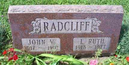 RADCLIFF, JOHN V. - Ross County, Ohio | JOHN V. RADCLIFF - Ohio Gravestone Photos