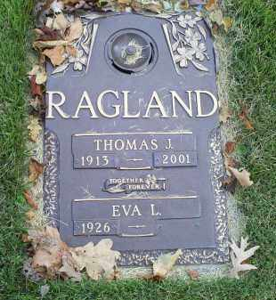 RAGLAND, THOMAS J. - Ross County, Ohio | THOMAS J. RAGLAND - Ohio Gravestone Photos