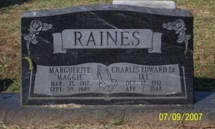"RAINES, MARGUERITE ""MAGGIE"" - Ross County, Ohio | MARGUERITE ""MAGGIE"" RAINES - Ohio Gravestone Photos"