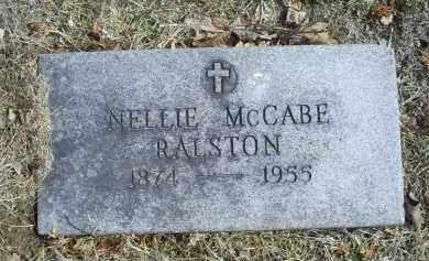 MCCABE RALSTON, NELLIE - Ross County, Ohio | NELLIE MCCABE RALSTON - Ohio Gravestone Photos