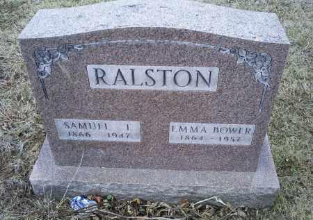BOWER RALSTON, EMMA - Ross County, Ohio | EMMA BOWER RALSTON - Ohio Gravestone Photos