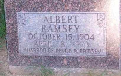 RAMSEY, ALBERT - Ross County, Ohio   ALBERT RAMSEY - Ohio Gravestone Photos
