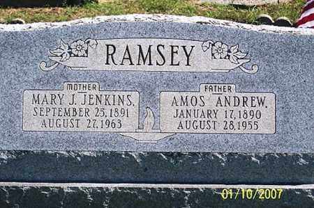 RAMSEY, AMOS ANDREW - Ross County, Ohio | AMOS ANDREW RAMSEY - Ohio Gravestone Photos