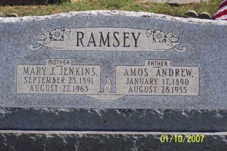 JENKINS RAMSEY, MARY J. - Ross County, Ohio | MARY J. JENKINS RAMSEY - Ohio Gravestone Photos