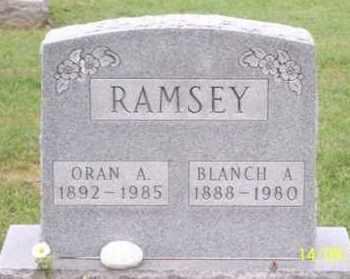 RAMSEY, ORAN A. - Ross County, Ohio   ORAN A. RAMSEY - Ohio Gravestone Photos